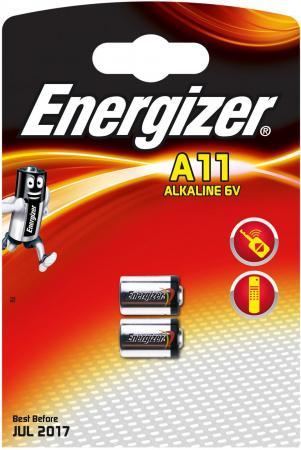 Батарейки Energizer Alkaline A11/E11A 2 шт 639449 lr1 e90 energizer alkaline 1 штука