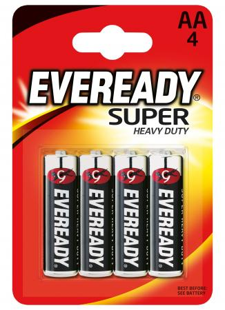 Батарейки Energizer Carbon Zinc Eveready AA 4 шт 637084