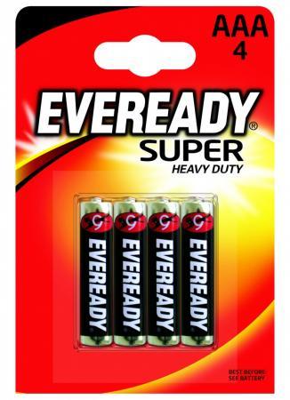 Батарейки Energizer Carbon Zinc Eveready AAA 4 шт 639608