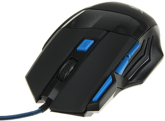 Мышь проводная Nakatomi MOG-21U чёрный USB мышь nakatomi mon 07u black usb