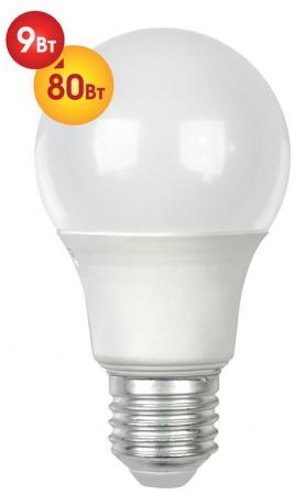 Лампа светодиодная груша Dialog A60-E27-9W-3000K E27 9W 3000K hesion hs02009 9w 830lm 3000k 9 led warm white ceiling lamp silver ac 85 265v
