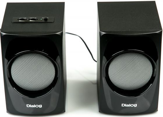 купить Колонки Dialog AP-20 10Вт черный дешево