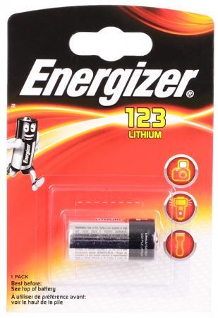 Батарейка Energizer Photo Lithium 123 CR123 1 шт 628290/E300687400