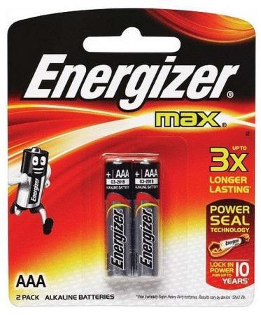 Батарейки Energizer Max AAA 2 шт 300157200/E300157202