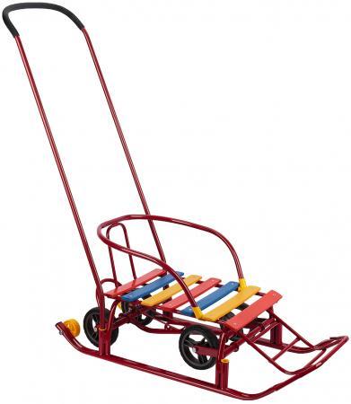 Купить со скидкой Санки Sweet baby Corsa Red до 50 кг сталь красный