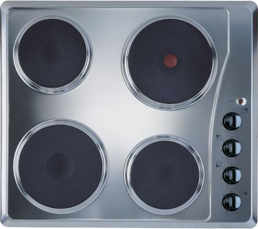 Варочная панель электрическая Indesit TI 60 X серебристый постельное белье евро сатин diamond нав 50х70 и 70х70
