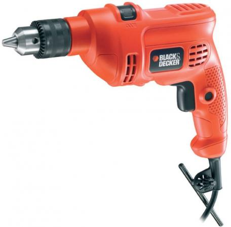 Дрель Black & Decker KR504CRE-XK 500Вт фрезер black and decker kw900e xk