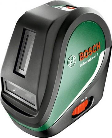 Лазерный нивелир Bosch UniversalLevel 3 Basic лазерный отвес bosch gpl 3 0 601 066 100