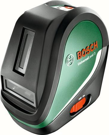 Лазерный нивелир Bosch UniversalLevel 3 Set лазерный отвес bosch gpl 3 0 601 066 100
