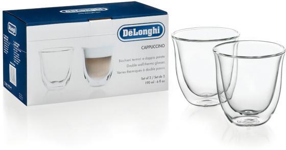 Набор чашек Delonghi Cappuccino 2 предмета (5513214601) набор чашек delonghi dlsc300 6 предметов