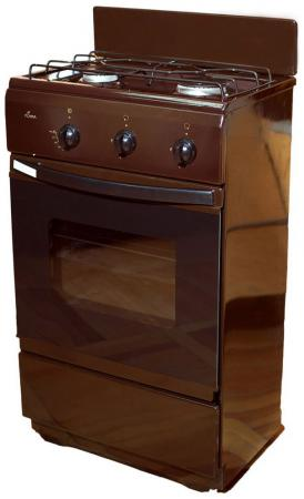 Газовая плита Flama CG 3202 B коричневый