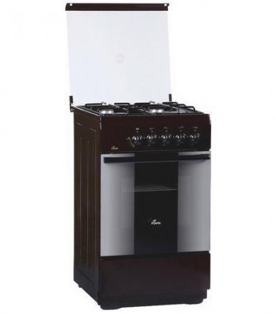 Газовая плита Flama FG 2406 B коричневый газовая плита flama fg 2406 w газовая духовка белый
