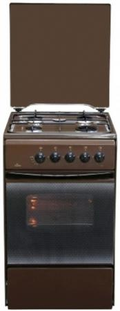 Газовая плита Flama FG 2411 коричневый газовая плита flama fg 2411 w газовая духовка белый