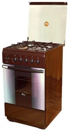 Газовая плита Flama FG 2424 B коричневый газовая плита flama fg 24210 b коричневый