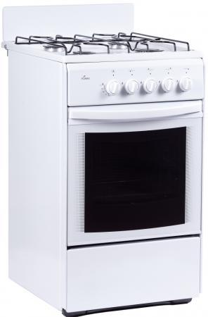 лучшая цена Газовая плита Flama RG 24027 W белый