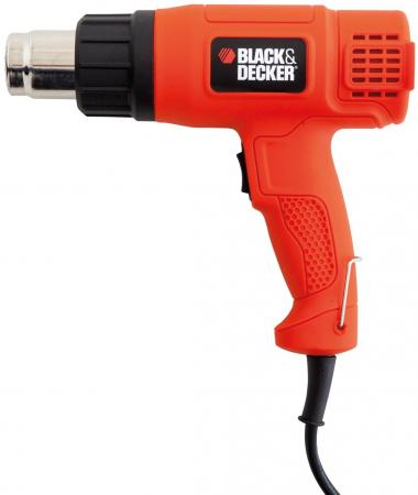 Термопистолет Black & Decker KX1650-XK 1650Вт фрезер black and decker kw900e xk