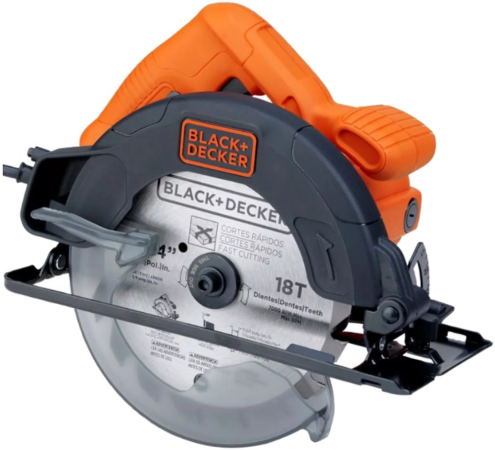 Дисковая пила Black & Decker CS1004-RU 1100Вт black decker rs890k пила сабельная