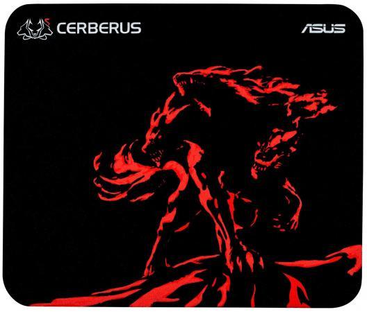 все цены на Коврик для мыши Asus Cerberus Mat Mini черный/красный 90YH01C3-BDUA00 онлайн
