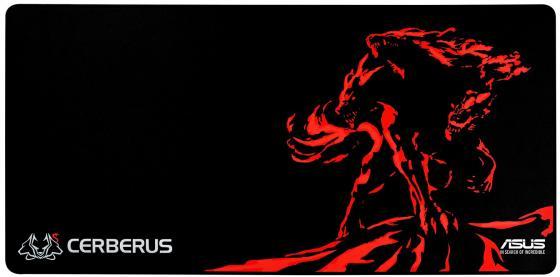 лучшая цена Коврик для мыши Asus Cerberus Mat XXL черный/красный 90YH01C1-BDUA00