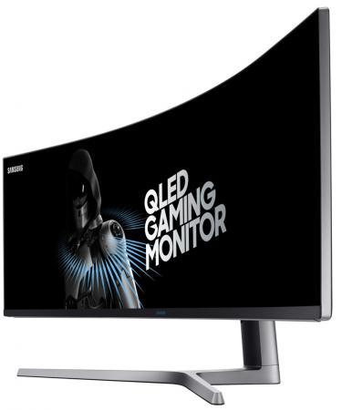 "Монитор 49"" Samsung C49HG90DMI черный VA 3840x1080 350 cd/m^2 1 ms DisplayPort Mini DisplayPort HDMI Аудио USB LC49HG90DMIXCI"
