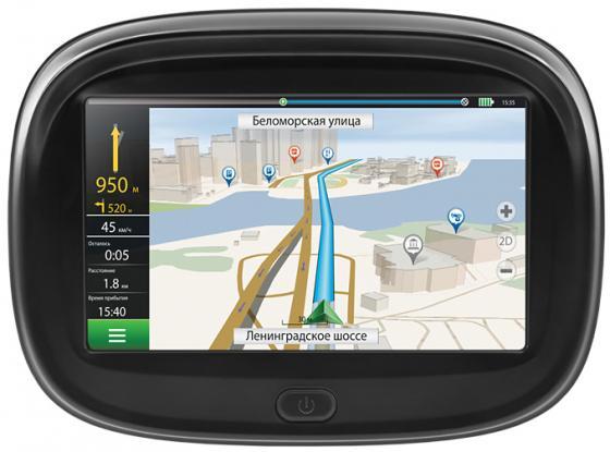 Навигатор Neoline Moto 2 4.3 480x272 4Gb microSD черный Navitel