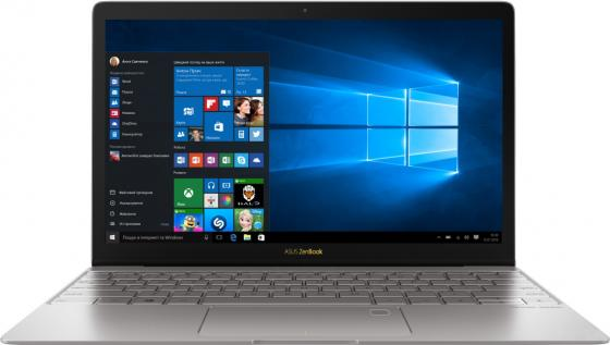 Ноутбук ASUS Zenbook 3 UX390UA-GS035R 12.5 1920x1080 Intel Core i5-7200U 512 Gb 8Gb Intel HD Graphics 620 серый Windows 10 Professional ноутбук asus zenbook 3 ux390ua