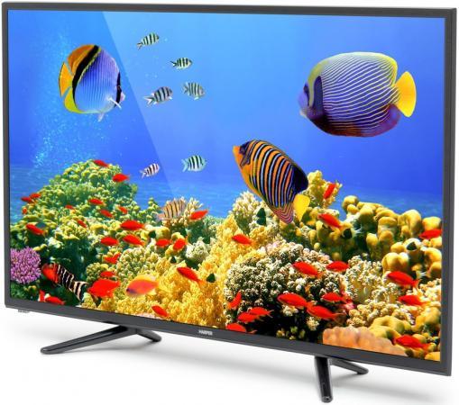Телевизор LED 32 Harper 32R470T черный 1366x768 50 Гц USB SCART VGA led телевизор harper 32r470t