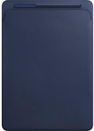 Купить со скидкой Чехол Apple Leather Sleeve для iPad Pro 12.9 синий MQ0T2ZM/A