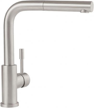 Смеситель Villeroy & Boch Steel Shower LC stainless steel massive серебристый 969701LC