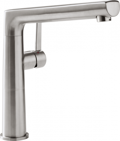 Смеситель Villeroy & Boch Sorano Sky LC stainless steel massive серебристый 926700LC