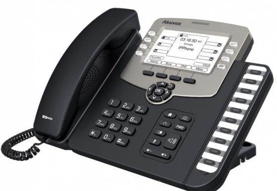 """Купить со скидкой Телефон IP Akuvox SP-R59P 6 SIP-аккаунта 2x10/100Mbps 2.3"""" LCD PoE"""