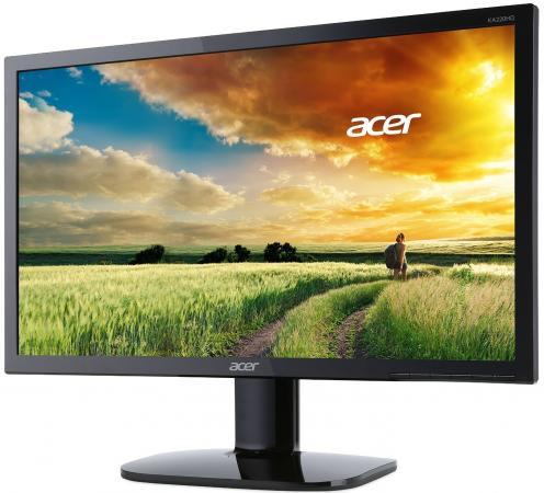 """цена на Монитор 22"""" Acer KA220HQbid черный TN 1920x1080 250 cd/m^2 4 ms DVI HDMI VGA UM.WX0EE.002"""