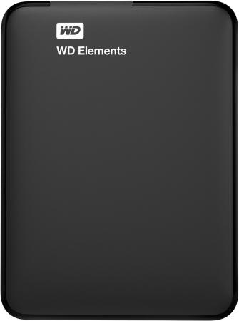 Внешний жесткий диск 2.5 USB3.0 4 Tb Western Digital Elements Portable WDBU6Y0040BBK-WESN черный