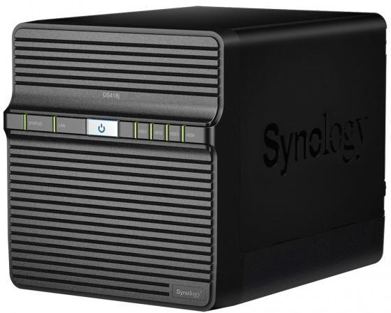 Сетевое хранилище Synology DS418J 4x2,5 / 3,5 synology synology ds716 ii