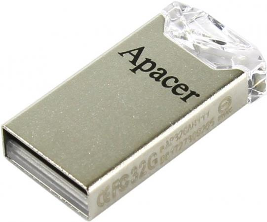 Флешка USB 32Gb Apacer Flash Drive AH111 AP32GAH111CR-1 серебристый usb flash drive 32gb союзмультфлэш барашек fm32a7 35 lw