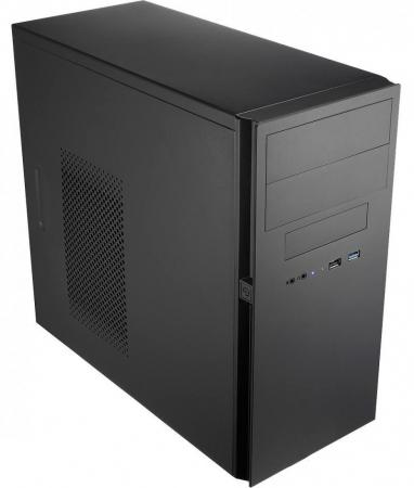 Корпус microATX Powerman ES725BK Без БП чёрный 6120640 цена