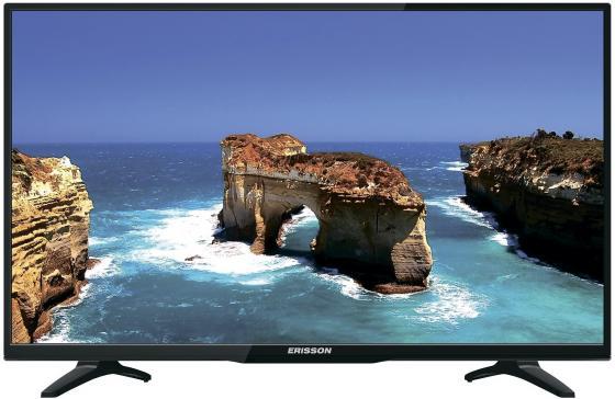 """Телевизор 32"""" Erisson 32LEA20T2SM черный 1366x768 50 Гц Wi-Fi RJ-45 SCART VGA"""