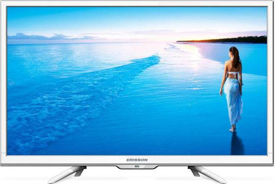 Телевизор LED 22 Erisson 22LES78Т2W белый 1920x1080 50 Гц VGA HDMI SCART USB led телевизор erisson 32 led 20 t2