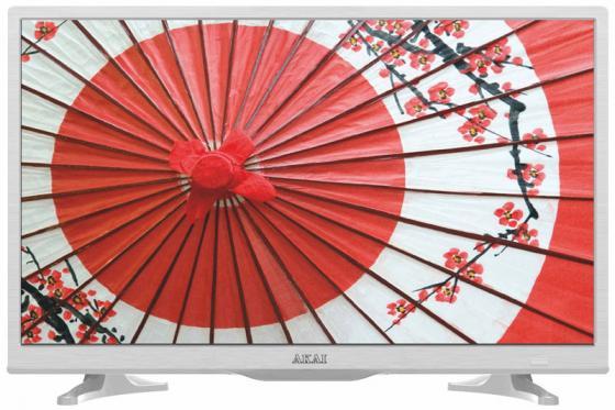 Телевизор LED 24 Akai LEA-24A65W белый 1366x768 HDMI USB SCART VGA led телевизор akai les 32x82wf