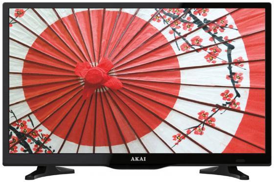 Телевизор 24 Akai LEA-24A64M черный 1366x768 50 Гц HDMI USB SCART VGA S/PDIF телевизор akai lea 24a64m черный