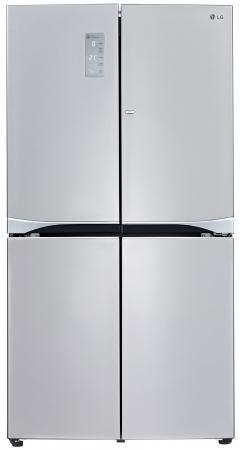 Холодильник Side by Side LG GR-M24FWCVM серебристый холодильник side by side samsung rs552nrua9m