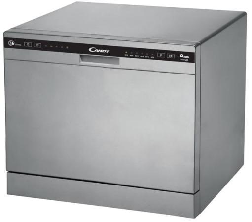 Купить со скидкой Посудомоечная машина Candy CDCP 6/ES-07 серебристый