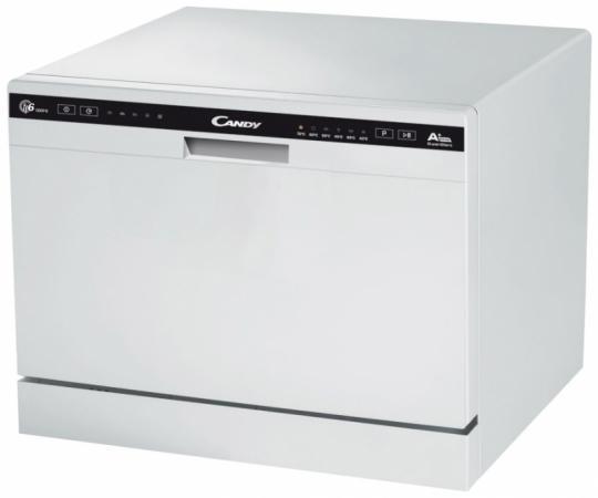 Посудомоечная машина Candy CDCP 6/E-07 белый посудомоечная машина candy cdcp 6 es 07