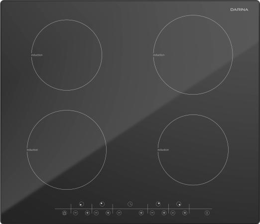 Варочная панель электрическая Дарина P EI305 B черный цены