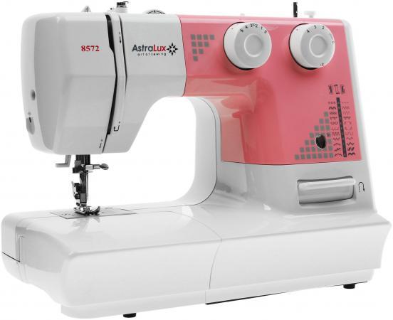 Швейная машина Astralux DC-8572 белый розовый швейная машинка astralux 7350 pro series вышивальный блок ems700