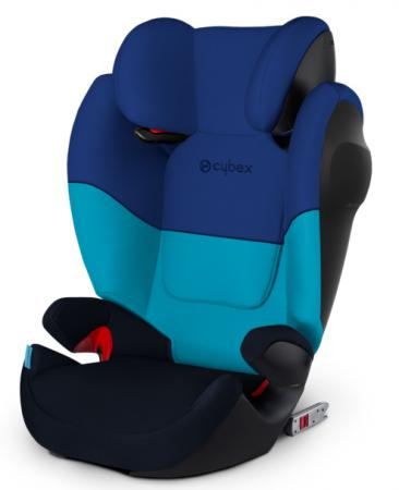 Автокресло Cybex Solution M-Fix SL (blue moon) cybex cybex автокресло solution q3 fix midninght blue