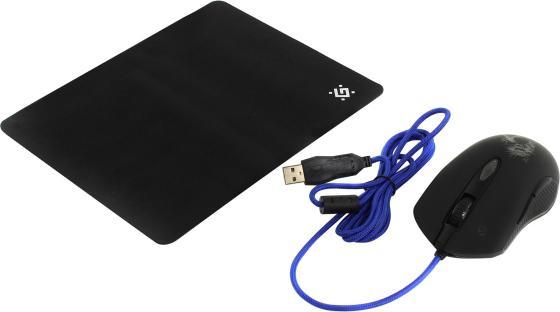 все цены на Мышь проводная Defender Sky Dragon GM-090L чёрный USB онлайн