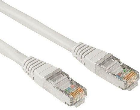 Патч-корд FTP 5E категории 1м серый PVC