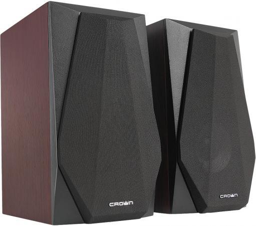 Колонки Crown CMS-241 2x12 Вт черный коричневый колонки defender x500 26 2x12 вт черный