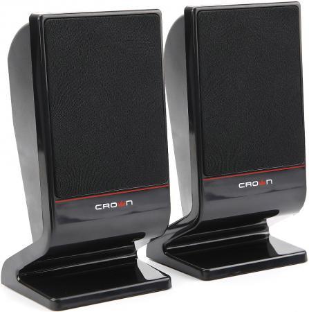 Колонки Crown CMS-601 2x3 Вт черный колонки crown cms 3801
